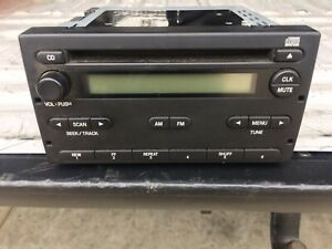 Ford Radio Am Fm Id 4l5t 18c869aa Fits 04 06 Ranger And Others