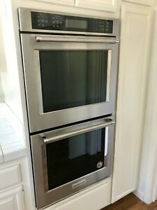 Kitchenaid 30 Electric Double Wall Oven W Even Heat True Convection