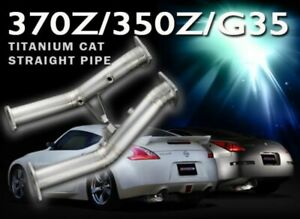 Tomei Expreme Titanium Cat Straight Pipe For 2007 09 Nissan 350z Vq35hr
