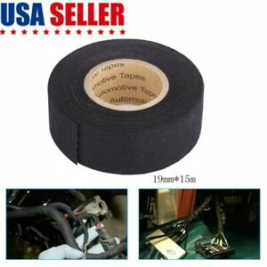 1 Roll Cloth Tape Wire Electrical Wiring Harness Car Auto Suv Truck 19mm 15m Usa