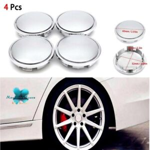 4 Pcs 65mm Top Quality Universal Abs Car Wheel Center Caps For Front Or Rear Whe