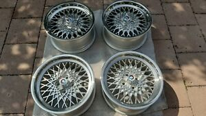 Oz Msw Wheels 15 4x100 Bmw E10 E21 E30 Golf Mk1 Mk2 Gti No Bbs Mahle Rs Rm
