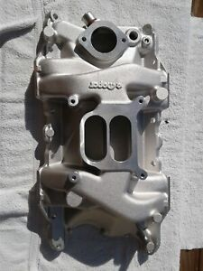 New W 2 Intake Manifold Mopar 340 360 Cid V8 Engines Used Dual Plane P5155426