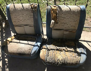 1962 1963 1964 Chevy Impala Olds Convertible Hard Top Power Bucket Seats Buick