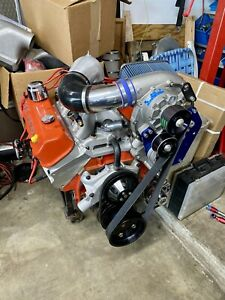 Blower Supercharger Blown Gm Zz 572 Big Block Chevy Crate Motor