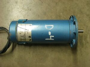 Pacific Scientific Electric Motor 90 Vdc 1 2 Hp 1750 Rpm Sr3642 4822 7 56bc cu