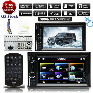 For Ford F150 250 350 450 550 2din Car Dvd Cd Radio Stereo Touchscreen Camera