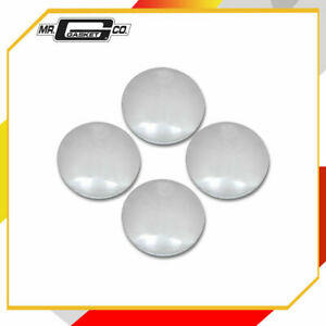 Mr Gasket 4580 Baby Moon Hub Caps Fits Most General Motors And Ford Chrome