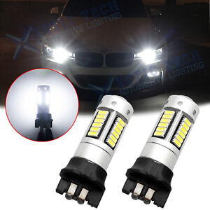 Xenon White Error Free Pwy24w 30 Smd Led Bulb For Bmw Daytime Running Light Bulb