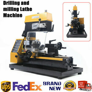 Ct125 3 in 1 180w High Power Micro Lathe Diy Micro Milling Machine Millier New
