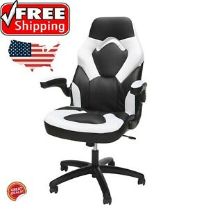 Big And Tall Gaming Chair Wide Desk Racer Executive Office High Back Leather New