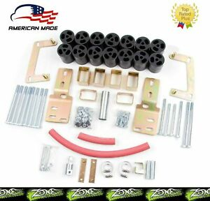 Zone Offroad 3 Body Lift Kit F9378 For 1998 2000 Ford Ranger