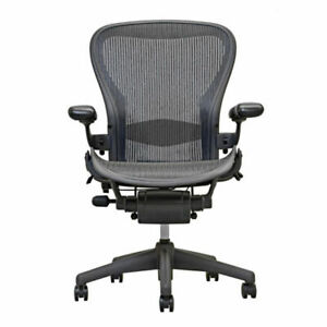 Herman Miller Aeron Office Chair Black Or Graphite