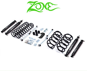 Zone Offroad 3 Lift Kit Suspension System Fits 2003 2006 Jeep Wrangler Tj J3n
