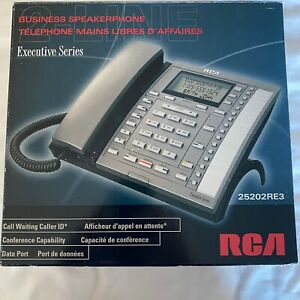 Rca Executive Series Office Business 2 line Telephone With Adapter 25202re3 b
