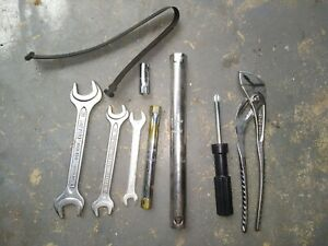 Bmw Trunk Tool Kit Wrench Pliers Screwdriver Sockets