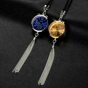 Car Ornament Hanging Perfume Watch Style Pendent Auto Decoration Air Freshener