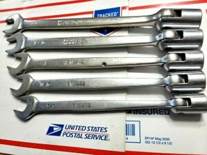 Matco Tools 6pc Flex Combination Wrench Set 12pt Sae Fast Shipping
