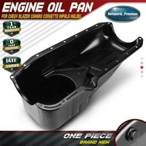 Engine Oil Pan For Chevy Corvette Impala Malibu Gmc C K 1500 2500 Pontiac Olds