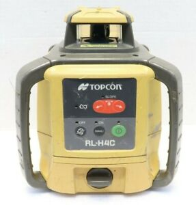 Topcon Rl h4c Long range Self leveling Construction Laser Body Only No Remote