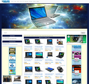 Fully Automated Ready Made Amazon Affiliate Laptops Store
