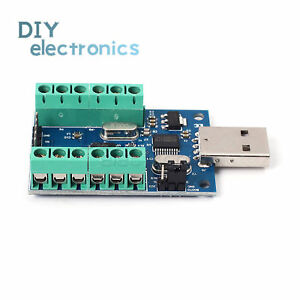 New Usb 10 Channel 12bit Ad Data Collection Board Stm32 Uart Adc Module L2kd