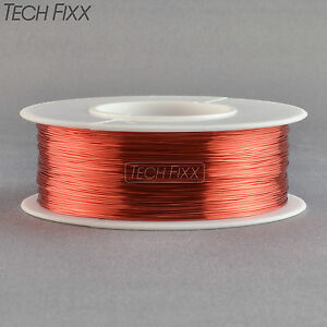 Magnet Wire 33 Gauge Awg Enameled Copper 1550 Feet Coil Winding 155 c Red