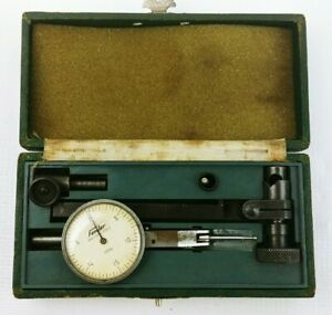Vintage Fowler Pic test Precision Dial Test Indicator 681665 Made In Japan