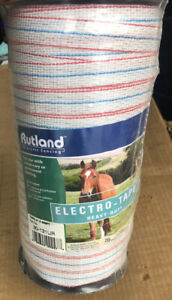 Rutland 30 131ur Electro tape Electric Fencing 20mm X 200m 3 4 X 656 Ft