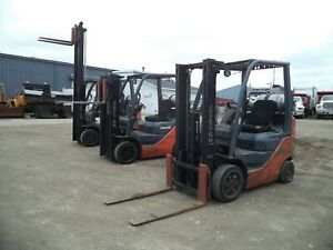 2008 2011 Toyota Model 8fgcu20 4 000 4000 Cushion Tired Forklift 118 Lift
