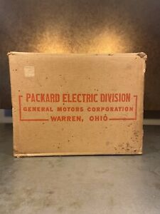 Packard Electric Motor Box 1950 General Electric Sears Roebuck S6963 1 2 Hp Ohio