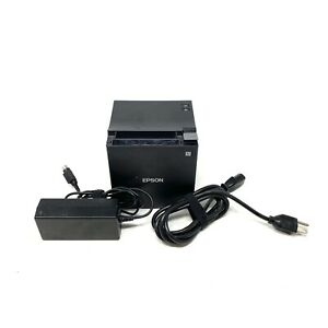 Epson Tm m30 Pos Point Of Sale Receipt Thermal Printer Usb Ethernet Wi fi Tested