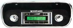 1967 1973 Mustang Ford Radio Aux Input Mp3 Custom Autosound Usa 230 Am fm