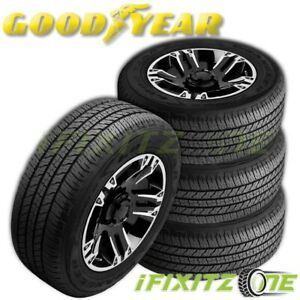 4 Goodyear Wrangler Fortitude Ht All season 235 75r16 Xl Truck Suv 65k Mile Tire