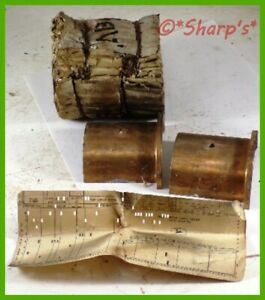 Ab320r John Deere B Br Bo Bronze Backed Main Bearing Nos Left Hand Usa
