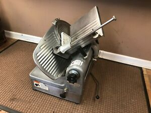 Hobart 1712 Two 2 Speed Automatic Manual Commercial Deli Meat Cheese Slicer