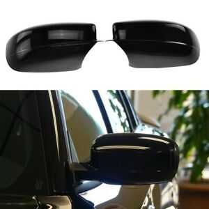 For 2011 2019 Chrysler 300 Glossy Black Side Mirror Covers Overlay
