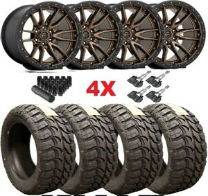 Trd Fuel Bronze Wheels Rims Tires 33 12 50 18 Mt Mud Tires Package Method