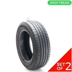 Set Of 2 Used 215 60r16 Michelin X Tour A S T H 95h 8 9 32