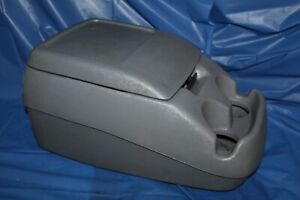 92 96 97 Ford Pickup Truck Bronco Interior Bucket Seat Center Console Gray Bolts