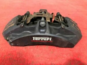 2014 Ferrari 458 Italia F1 Coupe Lh Left Front Carbon Ceramic 6 Piston Caliper