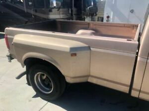 87 97 Ford F350 Pickup Used 8 Long Bed Box Dually Dual Tank W Tailgate Lights