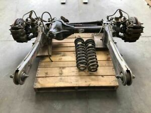 Used 08 Ford F350 4x4 Coil Type 3 73 Front Axle Assembly C34ac 27678