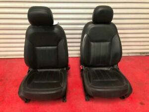2015 Buick Regal Used Front Left Right Pair Set Bucket Leather Power Seats