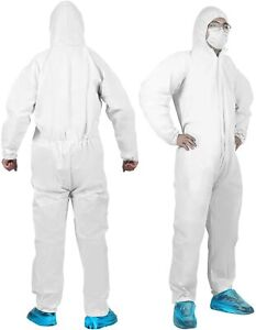 Yiber Disposable Protective Coverall Suit 5pcs L Xl Xxl