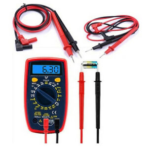 High Quality Universal Digital Multimeter Meter Test Lead Probe Wire Pen Cabl p