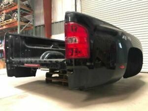 Used 2014 Silverado Dually Bed Black Color Fits 07 14 25974