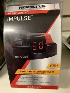 Hopkins Towing Solutions Trailer Brake Control Impulse 47233 New In Sealed Pack
