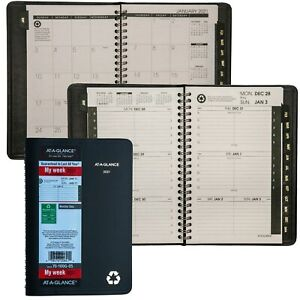 2021 At a glance 70 100g Weekly Monthly Appointment Book 5 1 2 X 8 1 2