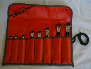 New Snap On 6 To 20 Mm 12 Point Box Ended Wrench Set Xsm608a 8 Wrenches
